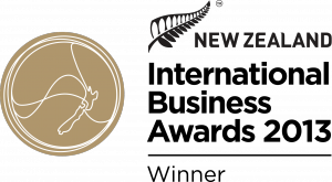 New Zealand International Business Awards 2013 Winner